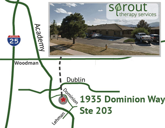 Sprout Map - 1935 Dominion Way Ste 203